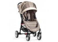 Детская коляска Baby Jogger City Mini Single 4WДетская коляска Baby Jogger CITY MINI SINGLE 4W<br><br>City Mini 4-Wheel является одной из самых проворных колясок семейства Baby Jogger. При этом в ней можно перевозить до 26кг! веса (ребёнка весом до 22 кг и 4 кг в корзине для покупок) Четырехколесная конструкция и двойная подвеска на передних колесах этой коляски делают её идеальной прогулочной коляской с прекрасной проходимостью и маневренностью.<br>Для детей возрастом от 0 до 4 лет и весом до 22кг<br><br>Многопозиционная спинка сиденья раскладывается по горизонтального положения<br><br>Вентилируемая задняя стенка при разложении коляски в горизонт, но при необходимости её можно закрыть непродуваемой защитной шторкой<br><br>Большой сетчатый карман для детских принадлежностей за спинкой сидения и большая корзина для покупок под сиденьем с легким доступом к ней, даже когда ребенок спит в коляске, и спинка опущена<br><br>Запатентованная система быстрого сложения «Quick-Fold». Ремень для мгновенного складывания и удобной переноски коляски встроен в сидении, резко потяните одной рукой за этот ремень, и коляска мгновенно и очень компактно сложится для транспортировки или хранения<br><br>Автоматическая блокировка коляски в сложенном состоянии<br><br>5-ти точечная система ремней безопасности с мягкими накладками<br><br>Регулируемая подножка<br><br>Ткань с защитой от солнца UPF 50+<br><br>Капор с 2 смотровыми окошками<br><br>City Mini 4-Wheel совместима с большинством автокресел группы 0+<br><br>На City Mini 4-Wheel возможна установка люльки Deluxe Pram<br><br>Полукруглая ручка удобной эргономичной формы<br><br>Вращающиеся передние колёса, с возможностью фиксации<br><br>Надежная тормозная система задних колес<br><br><br>Комплектация<br>прогулочный блок с шасси<br>бампер (в отдельной коробке)<br><br>Характеристики<br><br><br>Возраст ребенка<br><br>с рождения до 4 лет<br><br> <br><br><br><br>Максимальный вес ребенка/рост<br><br>22 кг / 111,8 см<br><br> <br><br><br><br>Регулиров