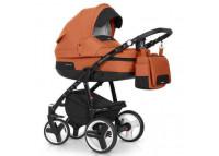 Коляска Riko Re-Flex 3 в 1Коляска Riko Re-Flex 3 в 1<br><br><br>Коляска Riko Re-Flex обеспечит вашему малышу самые лучшие условия для увлекательных прогулок и комфортного полноценного сна во время прогулок на свежем воздухе. Ребенок будет прекрасно себя чувствовать в просторной люльке, а комфортное прогулочное сиденье для подросшего ребенка предоставит наилучшие условия для изучения окружающего мира. Эта модель коляски на алюминиевой раме обладает отличной проходимостью за счет легкого хода и надувных колес. Современная система амортизации колес позволяет легко преодолевать любые препятствия на прогулке, и при этом сохраняется мягкость хода, обеспечивая спокойный сон вашего малыша. <br><br> <br><br>Особенности:<br><br><br>Просторная пластиковая люлька<br><br>Прогулочное сидение со всеми возможными регулировками<br><br>Закрытая корзина<br><br>Родительская сумка<br><br>Вставки из премиальной кожи и улучшенное качество ткани с оригинальными расцветками<br><br>Надувные колеса<br><br>Алюминиевая конструкция<br><br>Коляска для малышей: от 0 до 3 лет<br><br>Вес рамы: 10.17 кг<br><br>Вес рамы + люлька: 15.29 кг<br><br>Вес рамы + прогулочный блок: 16.05 кг<br><br>Размеры внутренние люльки: 80 х 37 х 22 см<br><br>Размеры сиденья: ширина 32 см, глубина 25 см, высота спинки 41 см, длина подножки 18 см<br><br>Диаметр передних колес: 24 см<br><br>Диаметр задних колес: 30 см<br><br>Ширина колесной базы: 60 см<br><br>Размер коляски в разложенном виде (ШхДхВ): 60 х 101 х 127 см<br><br>Размер сложенной рамы с колесами (ШхДхВ): 60 х 80 х 112 см<br><br>Диапазон регулировки ручки по высоте: 77-120 см от пола<br>