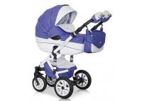 Riko BRANO ECCO 2 в 1Riko BRANO ECCO 2 в 1<br><br>НОВИНКА!!!<br>Коляска BRANO RIKO<br>Модельный ряд 2014 - 2015 года!!!<br><br>Детская коляска BRANO от Польского производителя RIKO предназначена для детей с рождения и до 3-х лет.<br>Модная, удобная и функциональная – новая модель в современном, стильном дизайне.  Коляска BRANO обеспечит крохе самые лучшие условия для увлекательных прогулок и комфортного полноценного сна во время прогулок на свежем воздухе.  Малыш будет прекрасно себя чувствовать в просторной люльке, а комфортное прогулочное сиденье для подросшего ребенка предоставит наилучшие условия для изучения окружающего мира. Эта модель коляски на алюминиевой раме обладает отличной проходимостью за счет легкого хода и надувных колес. Коляска маневренная благодаря поворотным передним колесам. Современная система амортизации колес позволяет легко преодолевать любые препятствия на прогулке, и при этом сохраняется мягкость хода, обеспечивая спокойный сон вашего малыша.<br>Коляска BRANO укомплектована просторной и комфортной люлькой и прогулочным блоком, которые легко устанавливаются на раму как по ходу, так и против хода движения, т.е. «лицом к маме».<br>Коляска BRANO – эталон Европейского качества торговой марки RIKO, была отмечена на специализированной выставке «МИР ДЕТСТВА 2014».<br><br>ХАРАКТЕРИСТИКИ ДЕТСКОЙ КОЛЯСКИ BRANO RIKO<br><br>ЛЮЛЬКА BRANO:<br>• Просторная пластиковая люлька с жестким дном<br>• Верхняя часть из водонепроницаемой ткани<br>• Не продуваемые борта<br>• Регулируемый по высоте подголовник<br>• Удобная ручка, расположенная  на капюшоне для переноски, обтянута эко-кожей<br>• Бесшумный механизм регулировки капюшона<br>• Капюшон с открывающейся на молнии секцией, со встроенной москитной сеткой для вентиляции<br>• Высокий отворот на накидке на люльку защитит новорожденного от непогоды<br>• Внутренняя вкладка выполнена из 100% хлопка, легко снимается для стирки<br>• Матрасник для новорожденного<br>• Возможность установки люльки в 2 положениях (лицом