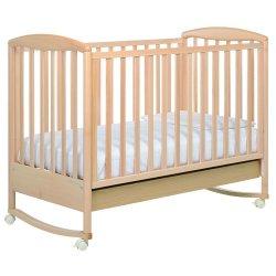 Naturale - Детская кровать Foppapedretti Liuba (автостенка, колесо-качалка, ящик 125x65 см)