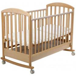 Натуральный - Papaloni кроватка-качалка Джованни 120х60