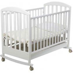 Белый - Papaloni кроватка-качалка Джованни 120х60