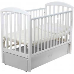 Белый - Papaloni кроватка-маятник Джованни 120х60