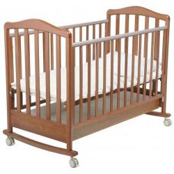 Орех светлый - Papaloni кроватка-качалка Винни