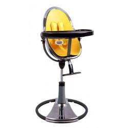 Желтый - Стульчик для кормления Bloom  Fresco Chrome TITANIUM