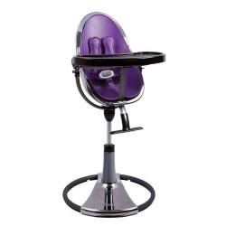 Фиолетовый - Стульчик для кормления Bloom  Fresco Chrome TITANIUM