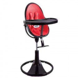 красный - Стульчик для кормления Bloom  Fresco Chrome Noir