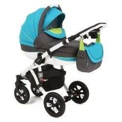 16P - Детская коляска Adamex Avila 2 в 1