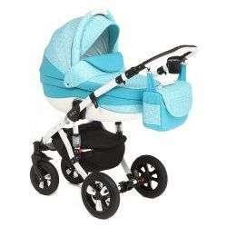 259W - Детская коляска Adamex Avila 2 в 1