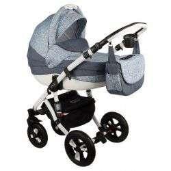 263W - Детская коляска Adamex Avila 3 в 1