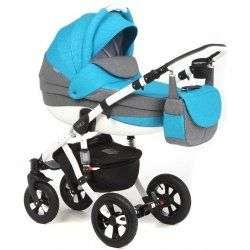 277W - Детская коляска Adamex Avila 2 в 1