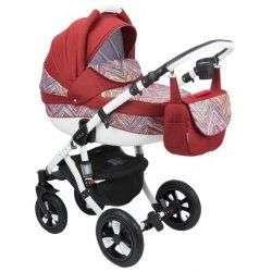 283W - Детская коляска Adamex Avila 3 в 1