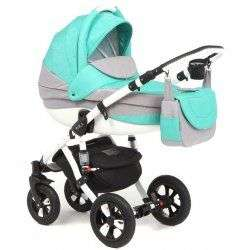 300W - Детская коляска Adamex Avila 2 в 1