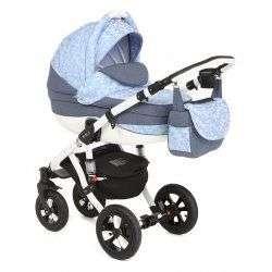 332W - Детская коляска Adamex Avila 2 в 1