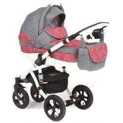 363W - Детская коляска Adamex Avila 2 в 1