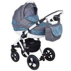 368W - Детская коляска Adamex Avila 2 в 1