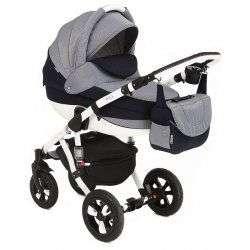 553G - Детская коляска Adamex Avila 2 в 1