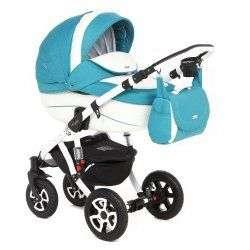 838S-B - Детская коляска Adamex Barletta Ecco 2 в 1