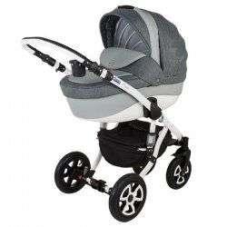 839s-b - Детская коляска Adamex Barletta Ecco 2 в 1