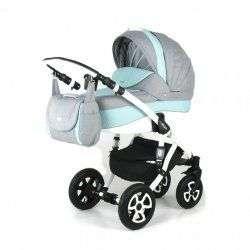 52L - Детская коляска Adamex Barletta 3 в 1