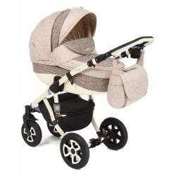601K - Детская коляска Adamex Barletta 3 в 1