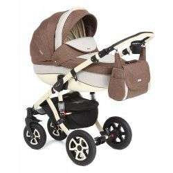 605K - Детская коляска Adamex Barletta 3 в 1