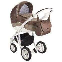633K - Детская коляска Adamex Barletta 3 в 1