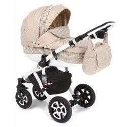 638K - Детская коляска Adamex Barletta 3 в 1