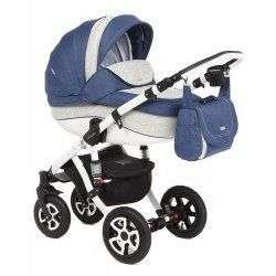 664K - Детская коляска Adamex Barletta 3 в 1