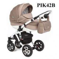 PIK42-B - Детская коляска Adamex Barletta 3 в 1