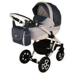 245W - Детская коляска Adamex Barletta 3 в 1