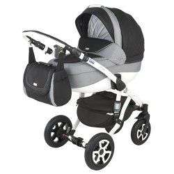 547G - Детская коляска Adamex Barletta 3 в 1