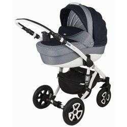 553G - Детская коляска Adamex Barletta 3 в 1