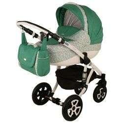 579G - Детская коляска Adamex Barletta 3 в 1