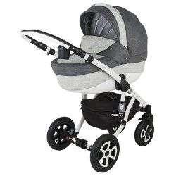 604K - Детская коляска Adamex Barletta 3 в 1