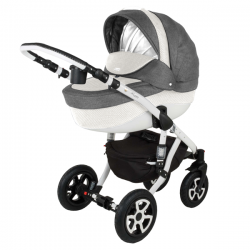 PIK15 - Детская коляска Adamex Barletta 3 в 1