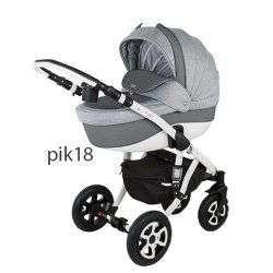 PIK18 - Детская коляска Adamex Barletta 3 в 1