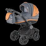 Детская коляска Adamex Avator 2 в 1 Carmel&Grey