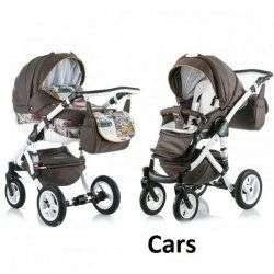 CARS - Коляска Adamex Barletta World 3 в 1