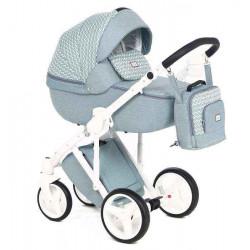 Q-204 - Детская коляска Adamex Luciano 2 в 1