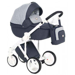 Q-207 - Детская коляска Adamex Luciano 2 в 1