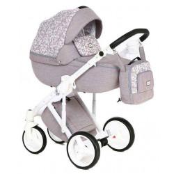 Q-208 - Детская коляска Adamex Luciano 2 в 1