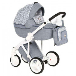 Q-209 - Детская коляска Adamex Luciano 2 в 1