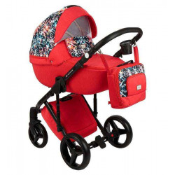 Q-317 - Детская коляска Adamex Luciano 2 в 1