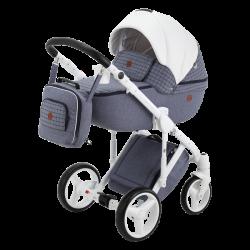 Q-334 - Детская коляска Adamex Luciano 2 в 1