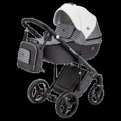 Q-357 - Детская коляска Adamex Luciano 2 в 1