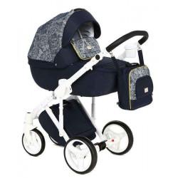 Q-214 - Детская коляска Adamex Luciano 2 в 1