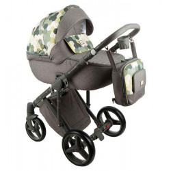 Q-216 - Детская коляска Adamex Luciano 2 в 1