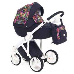Q-227 - Детская коляска Adamex Luciano 2 в 1