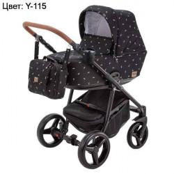 Y-115 - Детская коляска Adamex Reggio 3 в 1